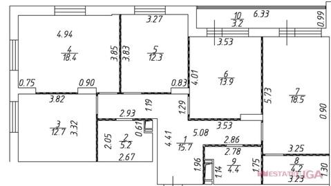 Котельники, 4-х комнатная квартира, Сосновая д.д.1 к.2, 132000 руб.