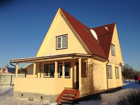 Дом из клееного бруса вблизи г. Руза