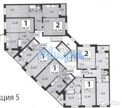 """1-комнатная квартира, 45 кв.м., в ЖК """"Люберецкий"""""""