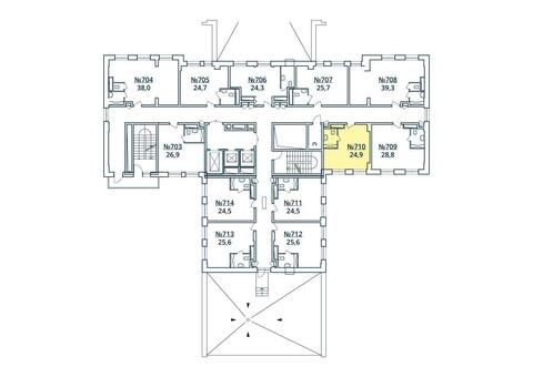 Москва, 1-но комнатная квартира, ул. Радиальная 6-я д.7, к 35, 2796170 руб.
