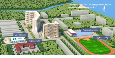 Пироговский, 1-но комнатная квартира, ул. Советская д.7, 2694430 руб.