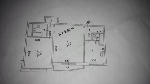 Продаётся 2-комнатная квартира по адресу Жулебинский 5