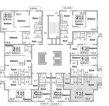 Москва, 1-но комнатная квартира, ул. Бибиревская д.4, 4679760 руб.