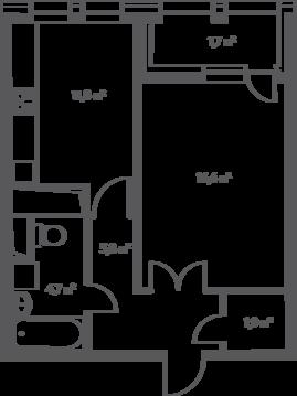 Москва, 1-но комнатная квартира, 1-й Нагатинский проезд д.14, 10215450 руб.