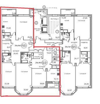 6-комнатная квартира, 213 кв.м., в ЖК Royal House on Yauza