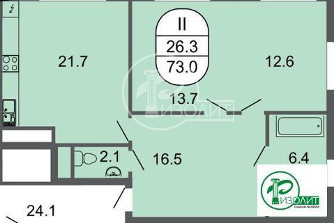 Предлагаем вам купить двухкомнатную квартиру в -новом жилом компле
