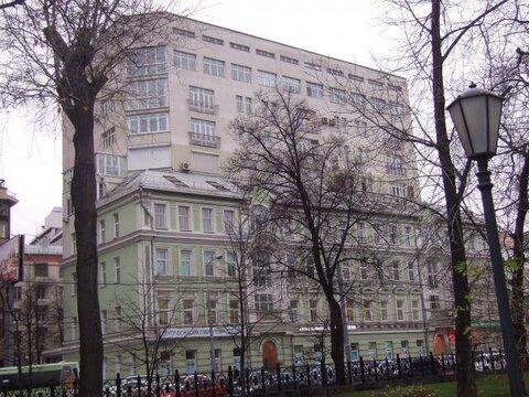 Просторная квартира в современном доме с охраной