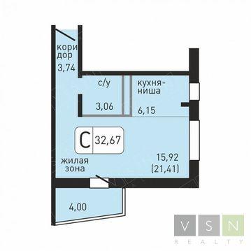 Ивантеевка, 1-но комнатная квартира, ул. Хлебозаводская д.10, 1911195 руб.