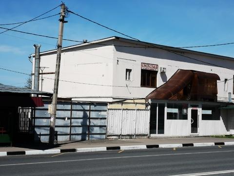 Продается нежилое здание 1200 кв.м. в 100 метрах от МКАД на 1-ой линии