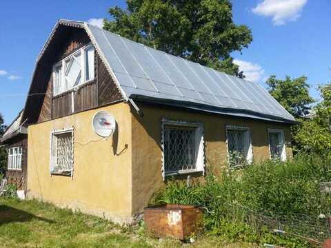 Дом 32,2 кв.м. на 10 сот. г.о.Ступино, д. Дубнево