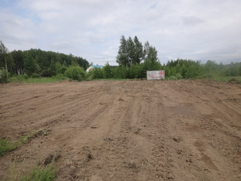 Участок для строительства дома рядом с Москвой