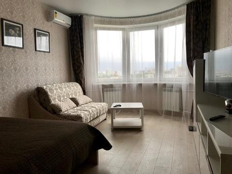 Новая 1-комн. квартира с хорошим видом, возле парка на 17 этаже!