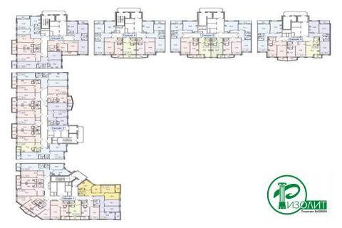 """1-комнатная квартира, 43 кв.м., в ЖК """"Изумрудные Холмы"""""""
