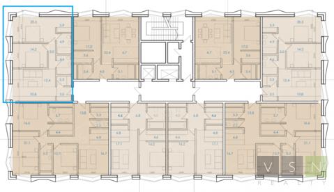 2-комнатная квартира, 80 кв.м.