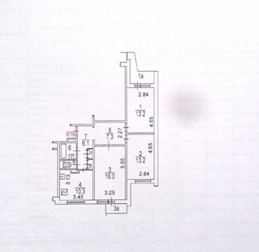 3-х комн. квартира Анохина 38к3 свободная продажа. Ипотека возможна.
