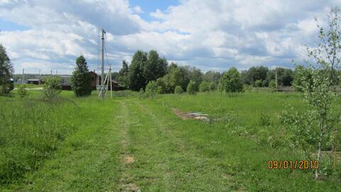 Продажа участка по Новорижскому шоссе п. Сычево
