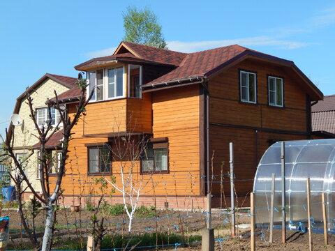 Двухэтажный дом из бруса 110 кв на 16 сот вблизи д. Землино