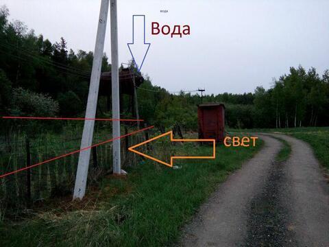 Дачный участок 7 соток (по факту 10 соток) около леса в Дмитрове