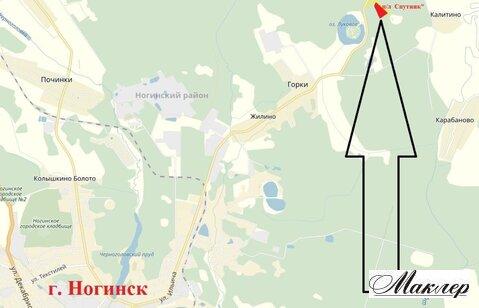 Земельный участок 400 сот бывший п/лагерь Спутник, Ногинский р-н