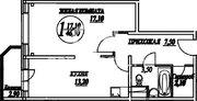 Рождествено, 1-но комнатная квартира, Сиреневый бульвар д.10, 2610000 руб.
