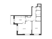 """Продается 2-к. квартира, 71,2 кв.м. в ЖК """"Альфа Центавра"""""""