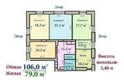 5-комнатная квартира 106 кв.м. ул. Коминтерна 20/2 м. Бабушкинская