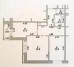 Продается видовая 2-х. комнатная квартира в Коммунарке.