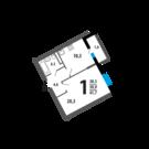 Продается квартира в городском районе Новые Ватутинки, микрорайон .