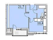 """Продается 1-к. квартира, 43,8 кв.м. в ЖК """"Парк Легенд"""""""