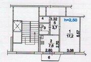 Жуковский, 1-но комнатная квартира, Циолковского наб. д.18, 3500000 руб.