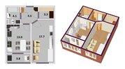 Продается 1 ком кв с ремонтом и мебелью г. Мытищи ул Сукромка д 28