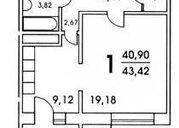 Дмитров, 1-но комнатная квартира, им Владимира Махалина д.40, 2100000 руб.