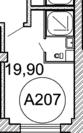 Москва, 1-но комнатная квартира, ул. Дубининская д.11/17 с3, 4378000 руб.