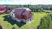 2-х этажный дом 558м2 из монолитного каркаса с оцилиндрованным бревном, 17000000 руб.