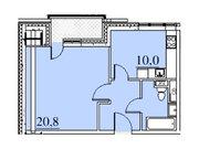 """Продается 1-к. квартира, 42,6 кв.м. в ЖК """"Парк Легенд"""""""