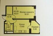 Продается 1-комнатная квартира г.Раменское, ул. Крымская д. 12