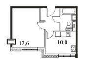 """Продается 1-к. квартира, 37,9 кв.м. в ЖК """"Парк Легенд"""""""