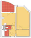 Химки, 1-но комнатная квартира, ул. Молодежная д.74, 5650000 руб.