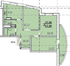 Лыткарино, 3-х комнатная квартира, ул. Первомайская д.19, 5650000 руб.
