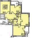 Москва, 3-х комнатная квартира, ул. Мосфильмовская д.88 к2, 29000000 руб.
