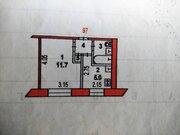 Хотьково, 1-но комнатная квартира, ул. Седина д.4, 1650000 руб.