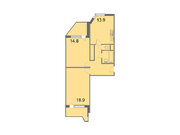 """Продается 2-к. квартира, 65 кв.м. в ЖК """"Кварталы 21/19"""""""