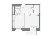 """Продается 1-к. квартира, 52,5 кв.м. в ЖК """"Клубный дом на Серпуховском ."""