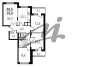 Электросталь, 4-х комнатная квартира, ул. Ялагина д.25-26, 4843400 руб.