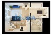 Продается однокомнатная квартира-студия площадью 27 кв.м. Новый монол