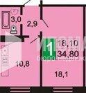 Зверево, 1-но комнатная квартира,  д.140, 1850000 руб.