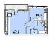"""Продается 1-к. квартира, 42,9 кв.м. в ЖК """"Парк Легенд"""""""