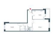 """Продается 2-к. квартира, 74.28 кв.м. ЖК """"Прайм Тайм"""""""