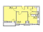 """Продается 2-к. квартира, 61,6 кв.м. в ЖК """"Парк Легенд"""""""