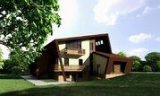 Дизайнерский коттедж в стиле модерн в г. Дубна, 8500000 руб.